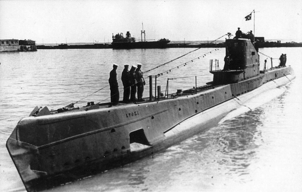 Советская субмарина щ 311 кумжа в