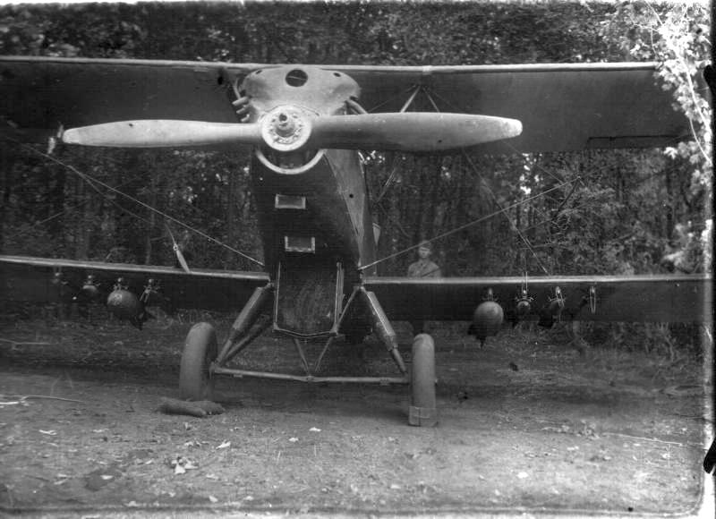 Pre-WWII recon airplane R-5