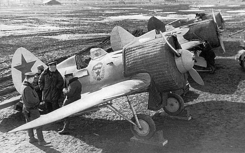foto photo ww2 WWII VVS USSR Polikarpov I-16 Soviet fighter