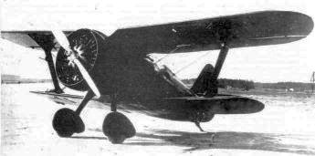 I.15 biplane fighter USSR
