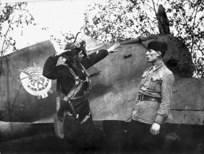 foto ww2 VVS USSR I.16 Soviet fighter