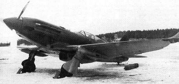 foto photo ww2 WWII VVS USSR MiG-3 armed with 5 MGs