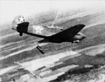 hictorical photografies Jak9B radziecki samolot mysliwski z czasow II wojny swiatowej.