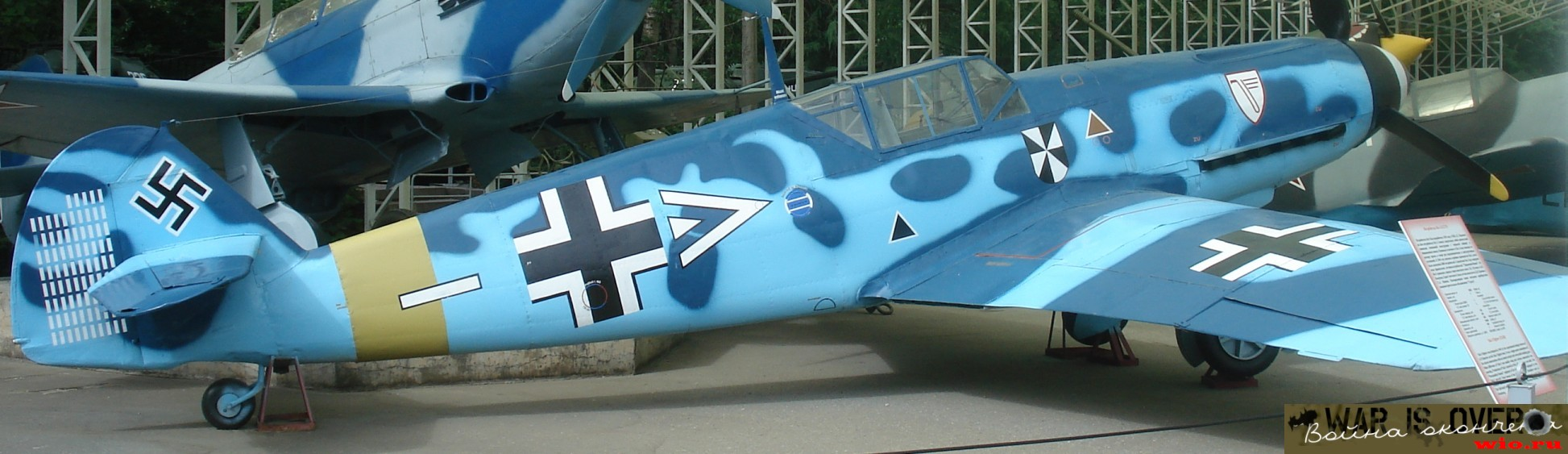 Fighters of Soviet-German front, 1st half of 1943 = Bf109