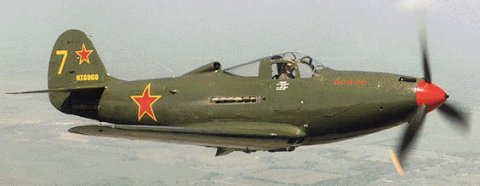 Color profiles of Russian P-39Q AirCobra