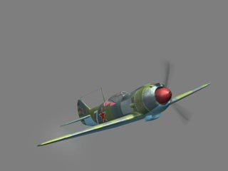 Soviet fighter Lavochkin