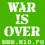 War is Over website