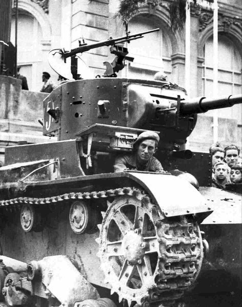 Light tank T-26 in Spain picture