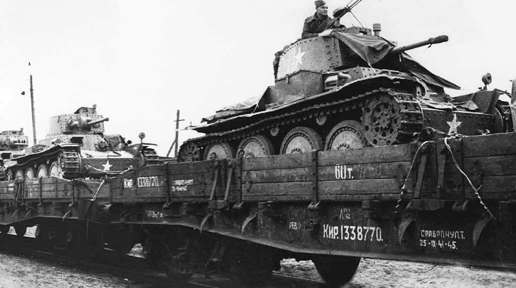 trophy light tank train
