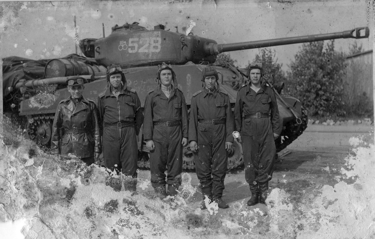 M4 Sherman medium tank of Red Army foto WWII AFV Lend-Lease