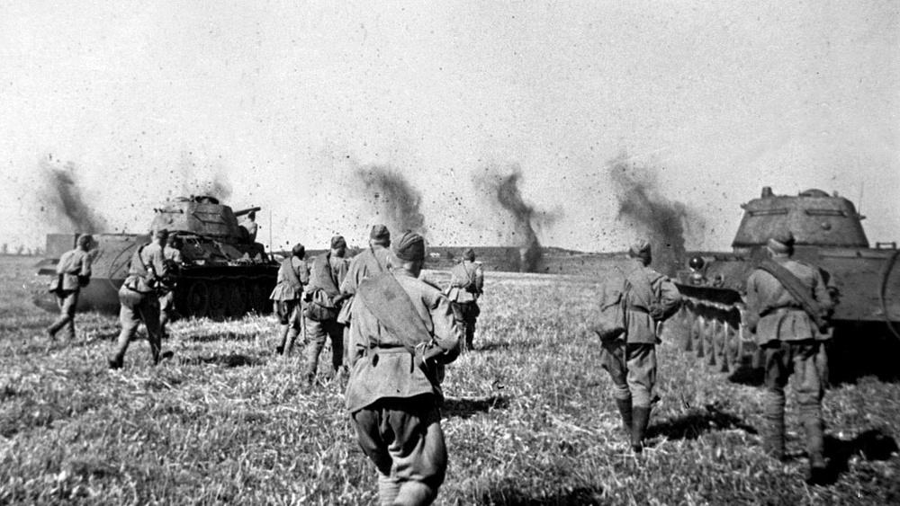 Курская битва серьезным испытанием в годы войны для т-34 была курская битва л