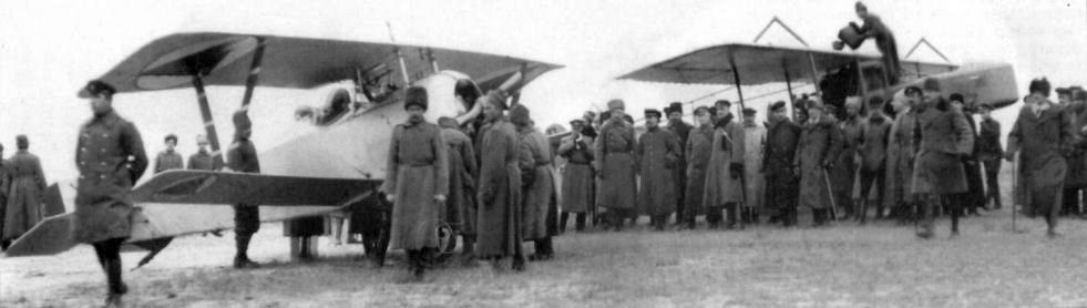 During Civilian War and Intervertion a number of foreign planes were captured and used